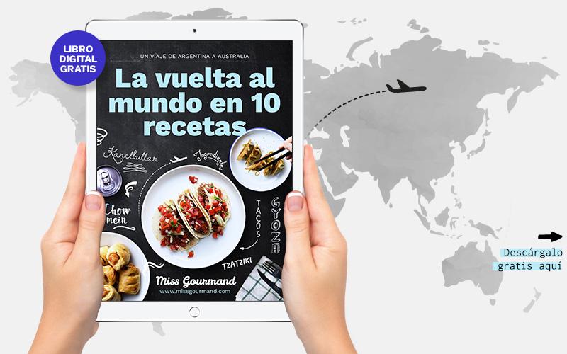 Libro de cocina: la vuelta al mundo en 10 recetas