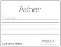 Handwriting Worksheets For Kindergarten Names - preschool ...