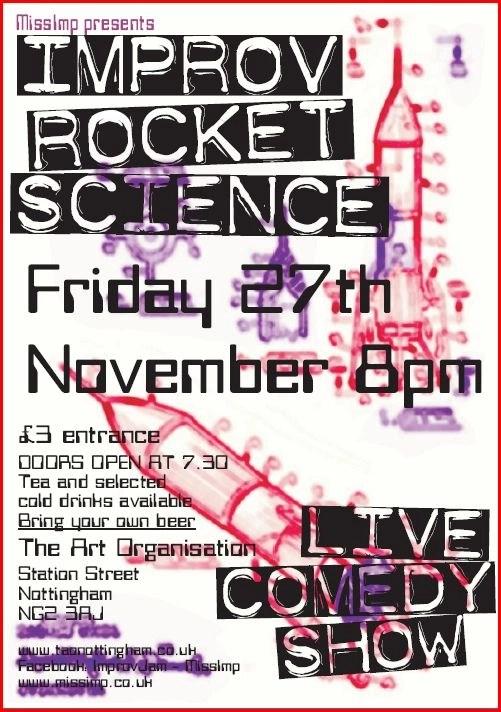 Improv Rocket Science