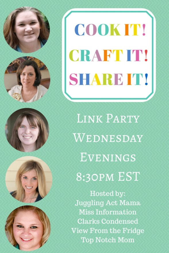 Join us for a fun link party where we pin and share your stuff all over social media!