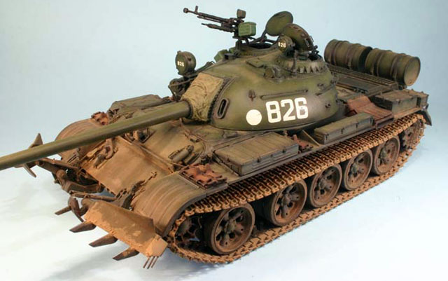 Fuse Fuse Box T 55 With Kmt 6 Mine Plough By Andy King Tamiya And Skif