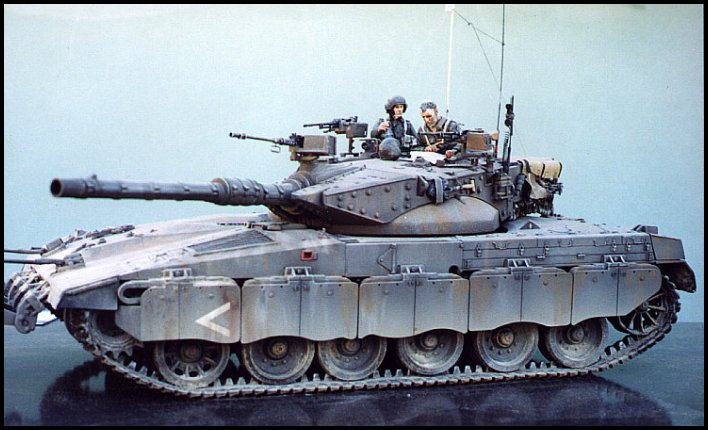 Missing Links Gallery Ron Puttee Merkava Mk II