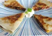 Smoked Turkey & Caramelized Onion Quesadillas