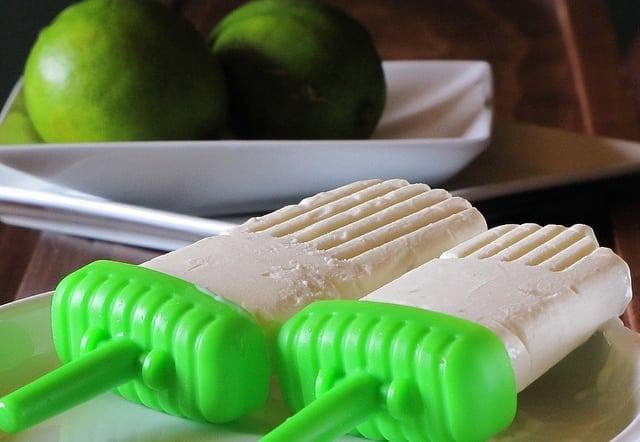 Lime Ice Cream Bars
