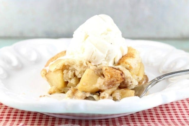 Easy Apple Cobbler Recipe Video Miss In The Kitchen