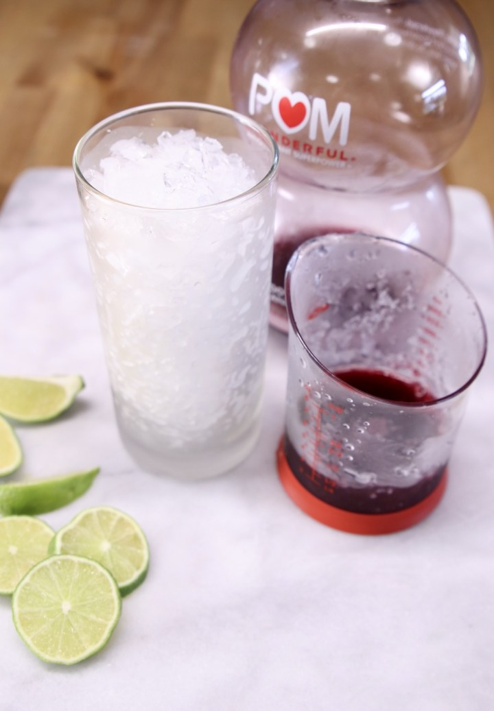how to make pomegranate margarita with tequila