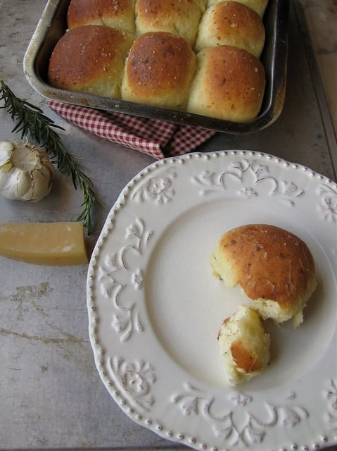 Fresh Rosemary and Parmesan Rolls