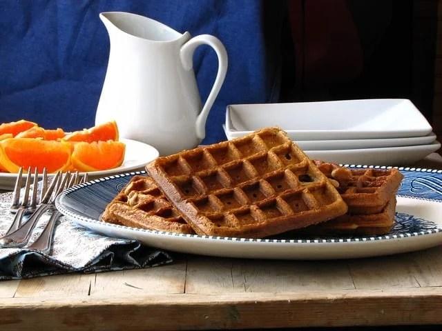 Brown Sugar Cinnamon Waffles   Miss in the Kitchen