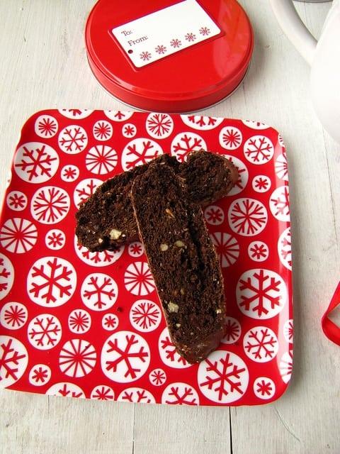 Chocolate Biscotti   Miss in the Kitchen