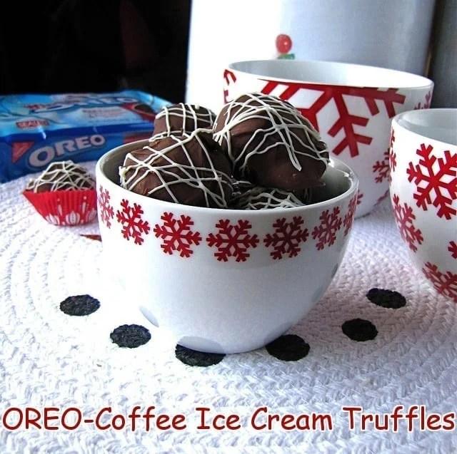 OREO-Coffee Ice Cream Truffles | Miss in the Kitchen