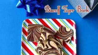 Biscoff Tiger Bark and Last Minute Gifts