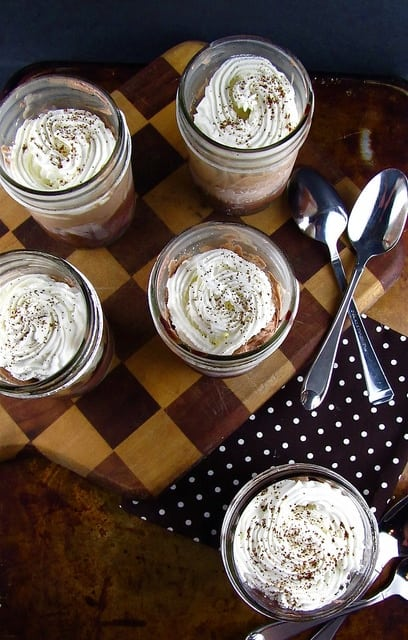 Frozen Mudslide Pies from Desserts in Jars | Miss in the Kitchen