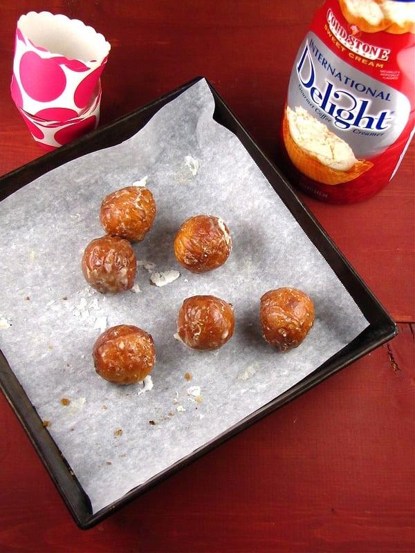 Sweet Cream Glazed Donut Holes from www.missinthekitchen.com