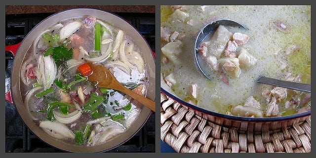 chicken and dumplings | Miss in the Kitchen