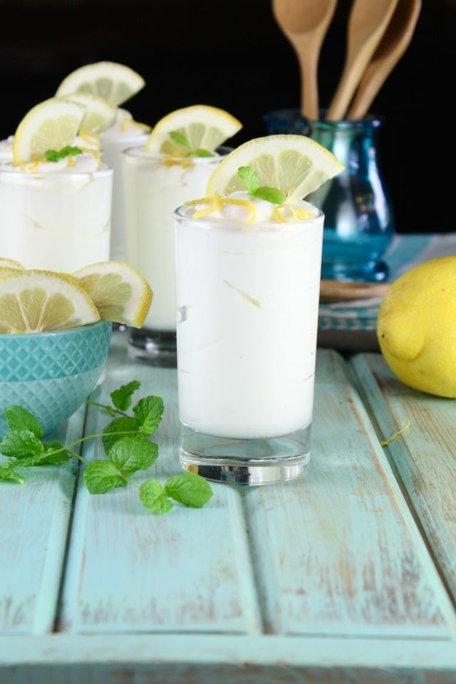 Lemon Cheesecake Mousse Recipe from MissintheKitchen