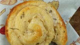 Easy Garlic Parmesan Rolls