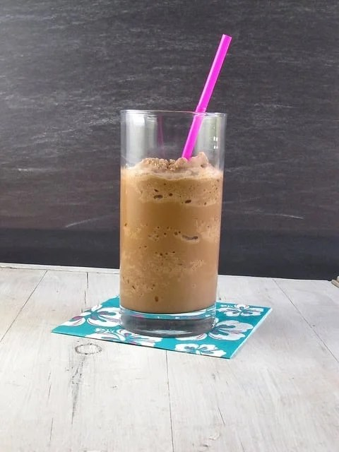 Nutella Iced Coffee - Miss in the Kitchen
