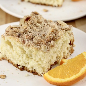 Almond Streusel Coffee Cake