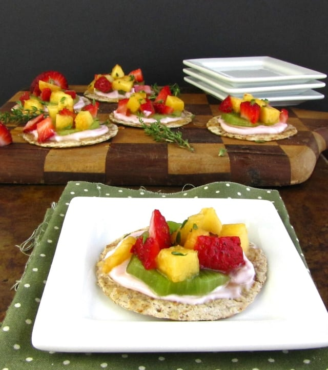 Miss in the Kitchen Light & Easy Fruit Tarts
