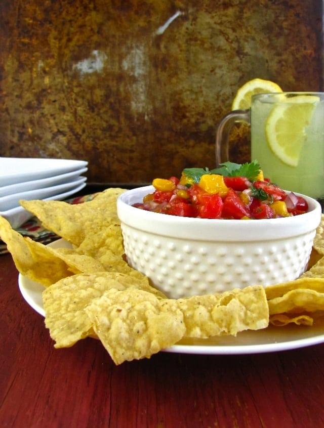 Miss in the Kitchen #salsa #mango 2