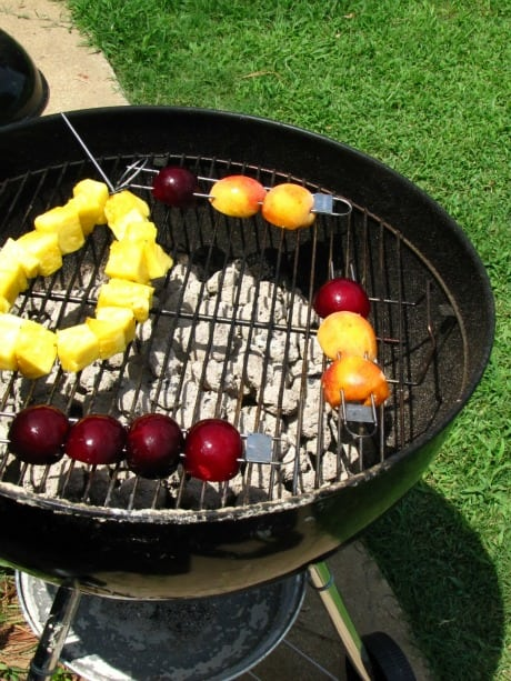 fruit salad grill