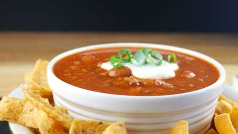 Quick & Easy Crock Pot Chili