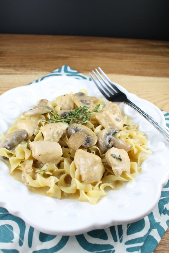 chicken and mushroom skillet from Miss in the Kitchen