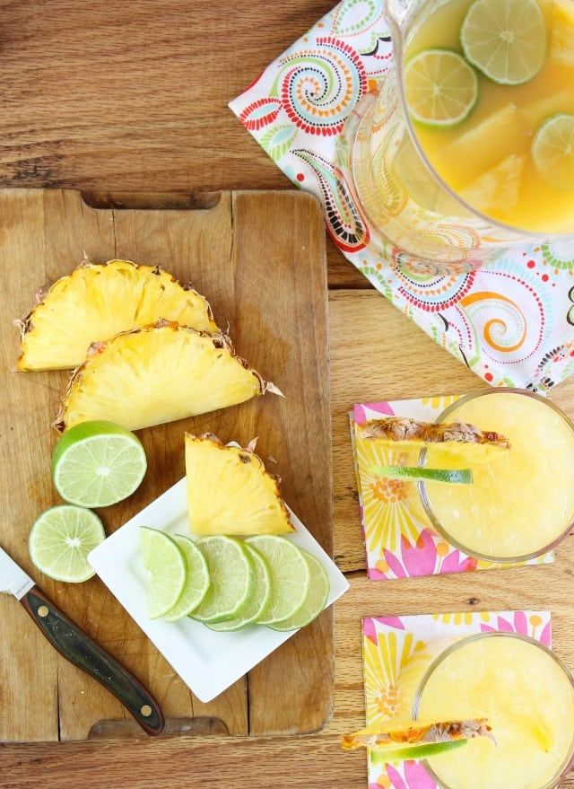 pineapple margaritas miss in the kitchen