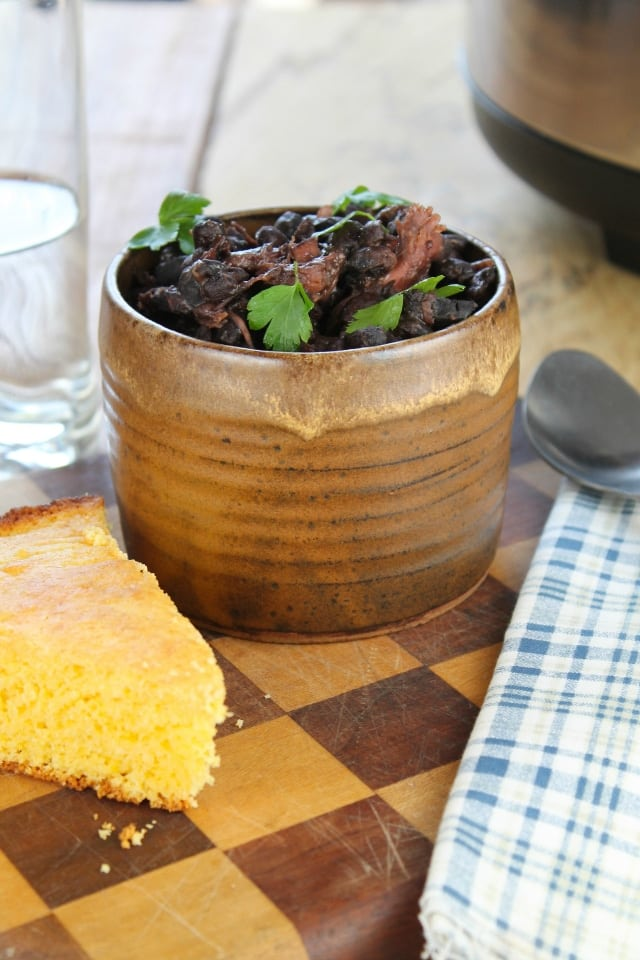 Slow Cooker Black Beans from Miss in the Kitchen