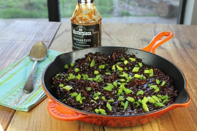 Barbecue Skillet Beans