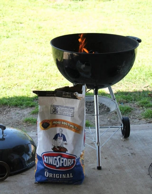Grilling with Kingsford