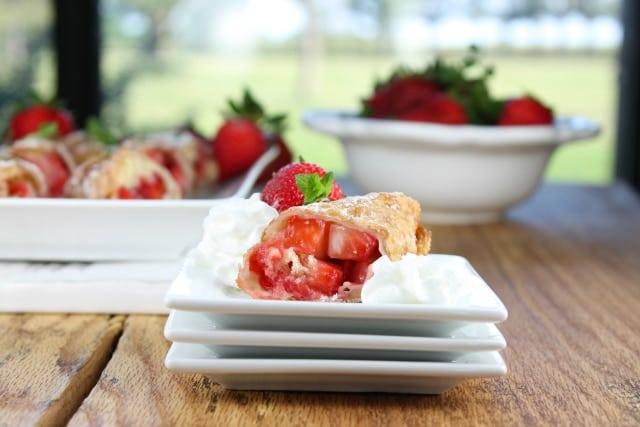 Strawberry Shortcake Egg Rolls 2