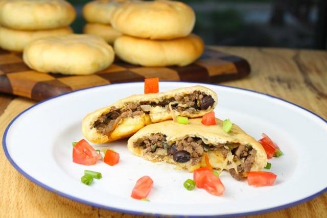 Tex-Mex Pocket Sandwiches