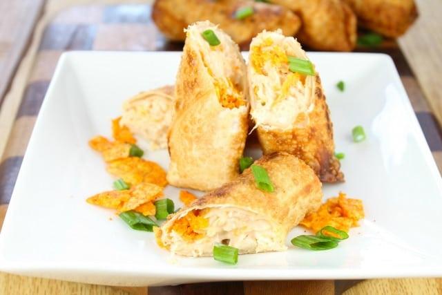 Doritos Chicken Egg Rolls | Miss in the Kitchen