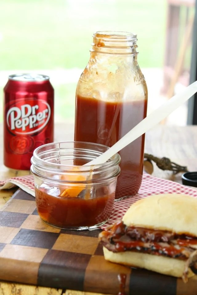 Dr Pepper BBQ Sauce from Miss in the Kitchen