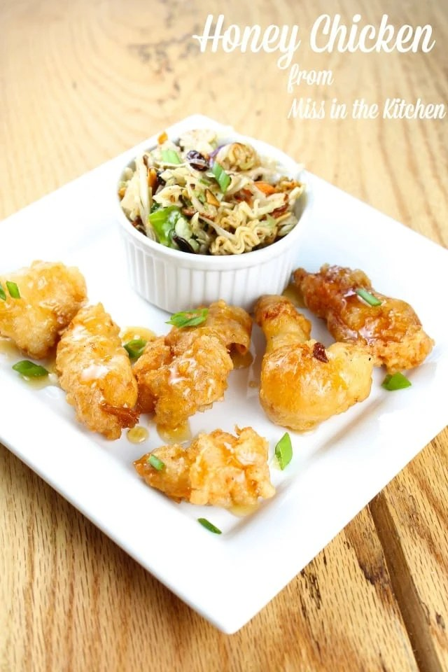 Honey Chicken Recipe from Miss in the Kitchen