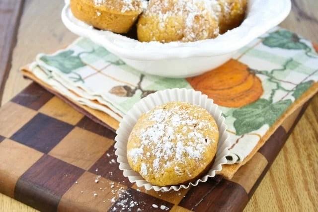 Biscoff Pumpkin Muffins