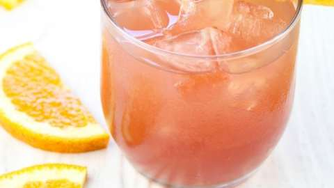 Orange wine punch