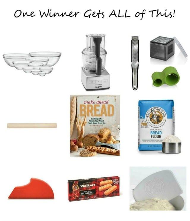 Make Ahead Bread Mega Prize