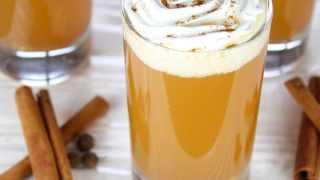 Warm Apple Pie Cocktail