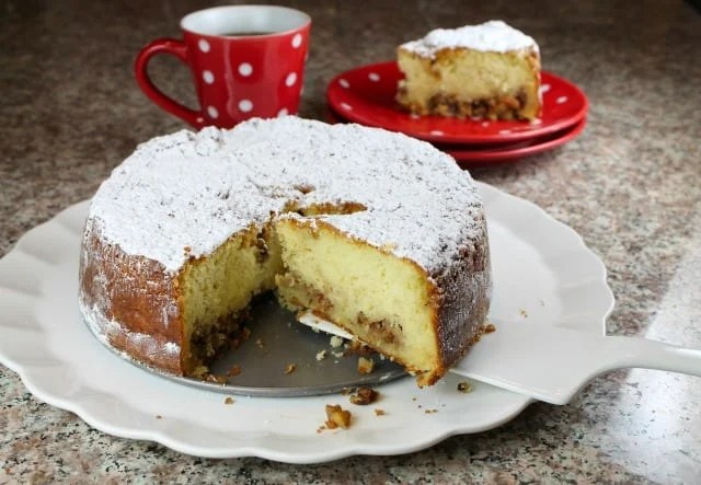 Easy Holiday Coffee Cake miss in the kitchen