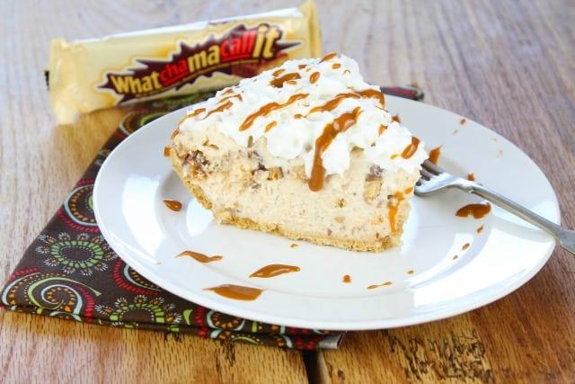 Peanut Butter Whatchamacallit Pie Recipe missinthekitchen.com