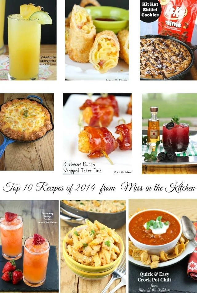 Top Recipes of 2014 from Miss in the Kitchen