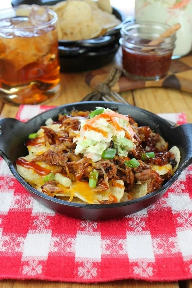 Brisket Nachos Recipe found at missinthekitchen.com
