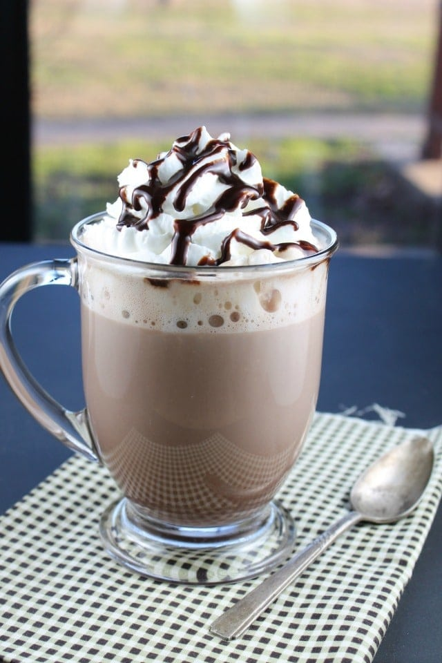 Rich and Creamy Hot Chocolate - Recipe found at missinthekitchen.com
