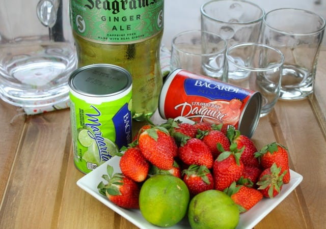 Strawberry Limeade Ingredients
