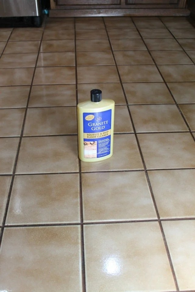 Granite Gold Squirt & Mop Floor Cleaner Getting it all Done with Miss in the Kitchen