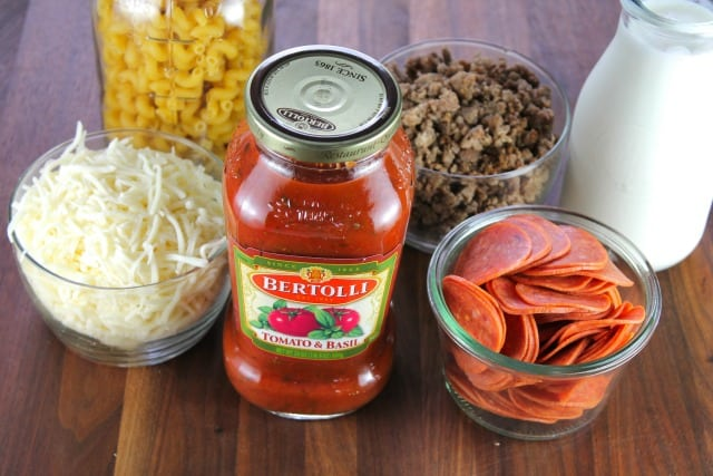 Ingredients Bertolli Pasta Skillet | Miss in the Kitchen