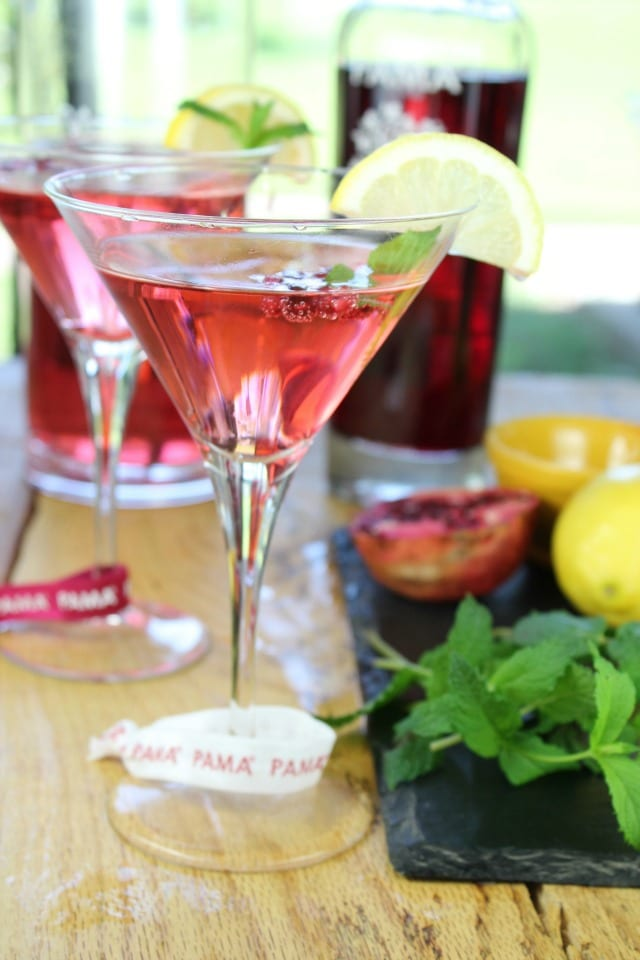 PAMA Summer Punch from Miss in the Kitchen