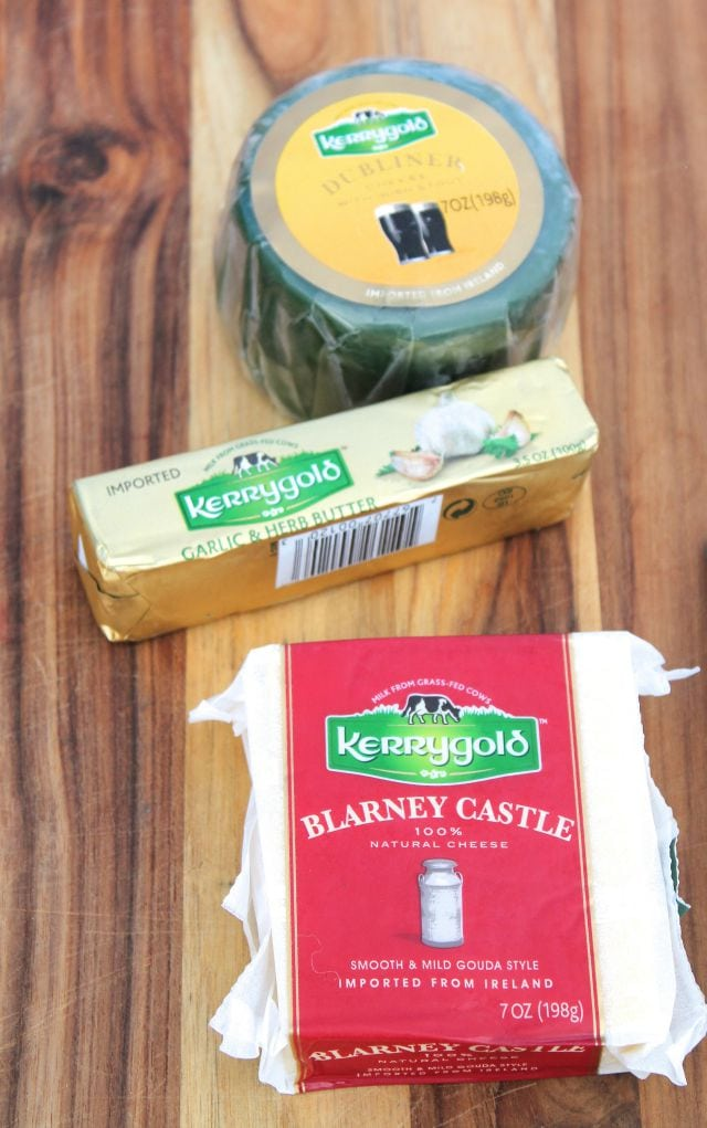 Double Grilled Cheese Burgers with Kerrygold missinthekitchen